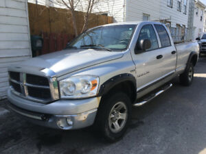 Dodge ram 2007, raison de la vente, abandon des affaires