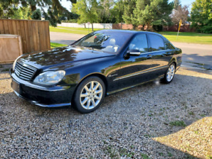 2003 Mercedes  benz  S55 AMG 5.4L Supercharged 493hp Great shape