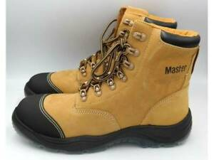 Master Brown Work Boots 024900172889 Rockingham Rockingham Area Preview