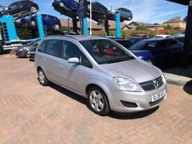 2008 Vauxhall Zafira 1.6 i 16v Exclusiv MPV 5dr Petrol Manual (172 g/km,