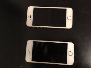 2 IPhone 5s with Bell Mobility 16gb