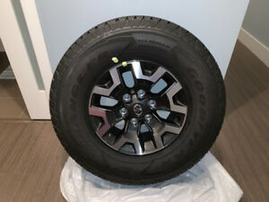 Brand New Toyota Tacoma OEM Stock Rims and Tires