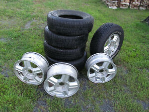 "15"" rims and tires for sale"