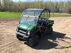 REDUCED 2016 610 Mule 4x4 NEW WINDSHIELD 48 HRS LIKE NEW