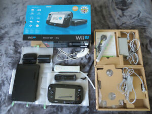 Wii U For sale (2 remotes and 1 nunchuck included)