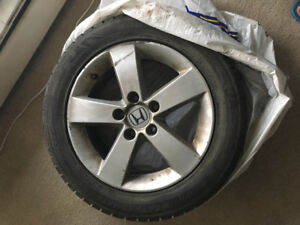 Winter tire for sale with alloy rims