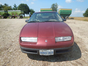 1992 Saturn S-Series Sedan (sold with set of 4 winter tires)