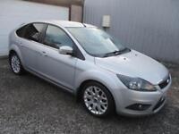 2009 Ford Focus 1.6 TDCi Zetec 5dr [110] [DPF] £30 TAX, DIESEL 5 door Hatchb...