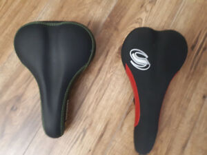 Two bicycle seats brand new