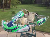 Tony Kart rolling chassis