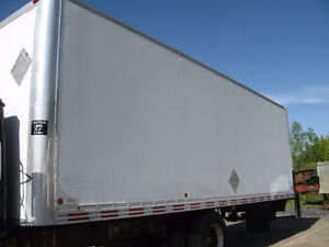 2006 – 26′ cargo box for truck (not insulated)
