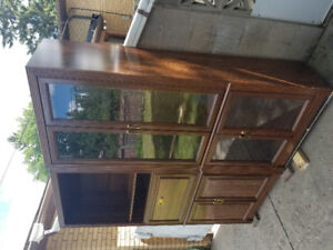 Wood Cabinet for Sale! Needs to be picked up!