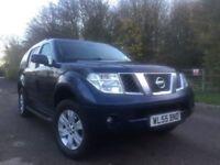 Nissan Pathfinder 2.5 diesel auto cheap tax £295 7seat