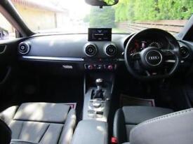 2014 Audi A3 1.6 TDI S line Sportback 5dr