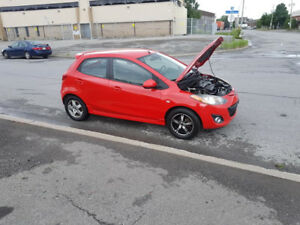 mazda 2 2011 automatique air clim full