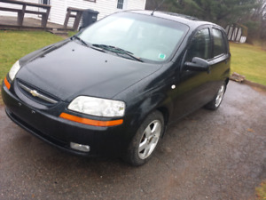 2006 aveo 5 speed $900 firm as is