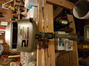 2006 - well maintained, very reliable, 2 hp Honda outboard motor