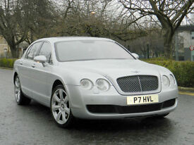 2005 55 REG BENTLEY FLYING SPUR 6.0 SEDAN 4dr WITH HEATED+COOLED MASSAGE SEATS
