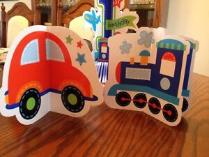 """Boys First Bday Party Decorations """" All Aboard Theme"""" Belleville Belleville Area image 5"""