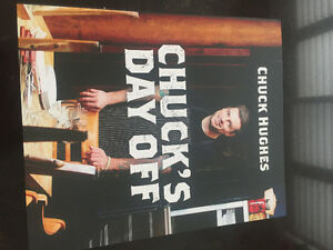 CHUCK HUGHES CHUCKS DAY OFF COOKBOOK BRAND NEW AUTOGRAPHED