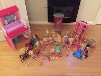 Barbie bundle of 35 dolls