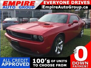2012 DODGE CHALLENGER LEATHER * BLUETOOTH * SAT RADIO SYSTEM * L