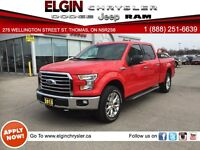 2015 Ford F-150 XLT***Leather, Navi, B-up Camera, SuperCrew Cab*