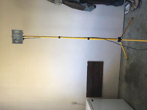 Stand up extension Shop light