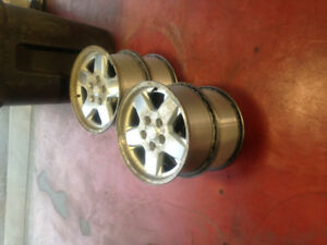 4 USED JEEP ALLOY RIMS FOR SALE