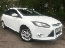 2012 Ford Focus 1.6 TDCi Titanium Hatchback 5dr Diesel Manual (109 g/km,