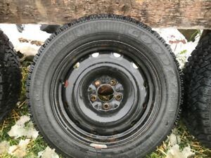 winter tires and rims for accord