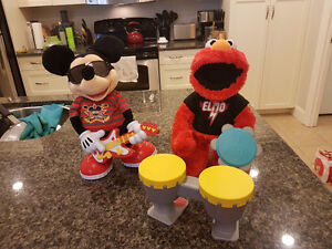 Let's Rock Elmo and Rock Star Mickey Mouse