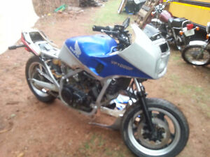 2 honda interceptor parts bikes