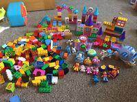 Girls giant Lego Duplo Disney princess Doc mcstuffins Winnie the Pooh bundle set