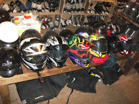 casques de vtt moto ....