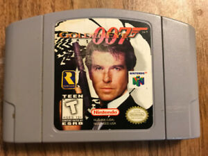 Golden Eye 007 Nintendo 64