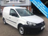 2013 VOLKSWAGEN CADDY 1.6 C20 TDI BLUEMOTION STOP START 102BHP FULL HISTORY