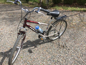 """KHS Town and Country Comfort Bike  17""""  Model TC 150."""