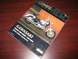 Shop manual Kawasaki VN1500 Vulcan Classic Nomad 1996 - 2008