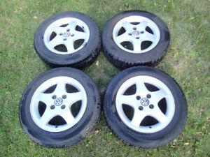 Mag, Rim, Jante Volkswagen Cabrio avec pneu été 195/60 R14