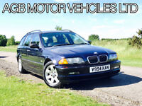 AUTOMATIC BMW 318 1.9i PETROL TOURING SE AUTO HPI CLEAR LOW MILES