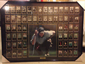 Framed Golf Masters Champions from 1934-1997 Cambridge Kitchener Area image 1