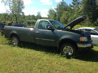 2002 Ford F-150 xlt Pickup Truck for parts or repair