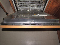 "Miele Stainless Steel 24"" Intergrated Dishwasher"