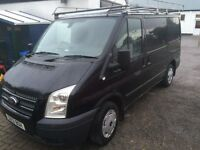 Ford Transit trend 2.2 125ps. Tow bar, roof rack, 1 yr MOT, recently serviced.