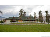 Incomparable Executive Equestrian Property in Vernon BC