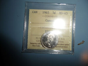 4 Graded and Sealed Canadian Nickels