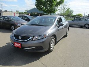 2014 Honda Civic LX ONLY 59,000 KM !!! NO ACCIDENT !!!