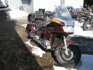 Honda GL1200 GL 1200 Goldwing Interstate 1985