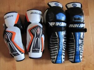 Bauer Supreme Chin & Elbow Pads
